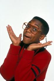 "Steve Urkel from the TV show ""Family Matters"" is the ultimate geek and is probably an expert in social media."